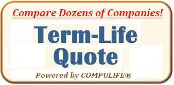 Term Life Quote Button